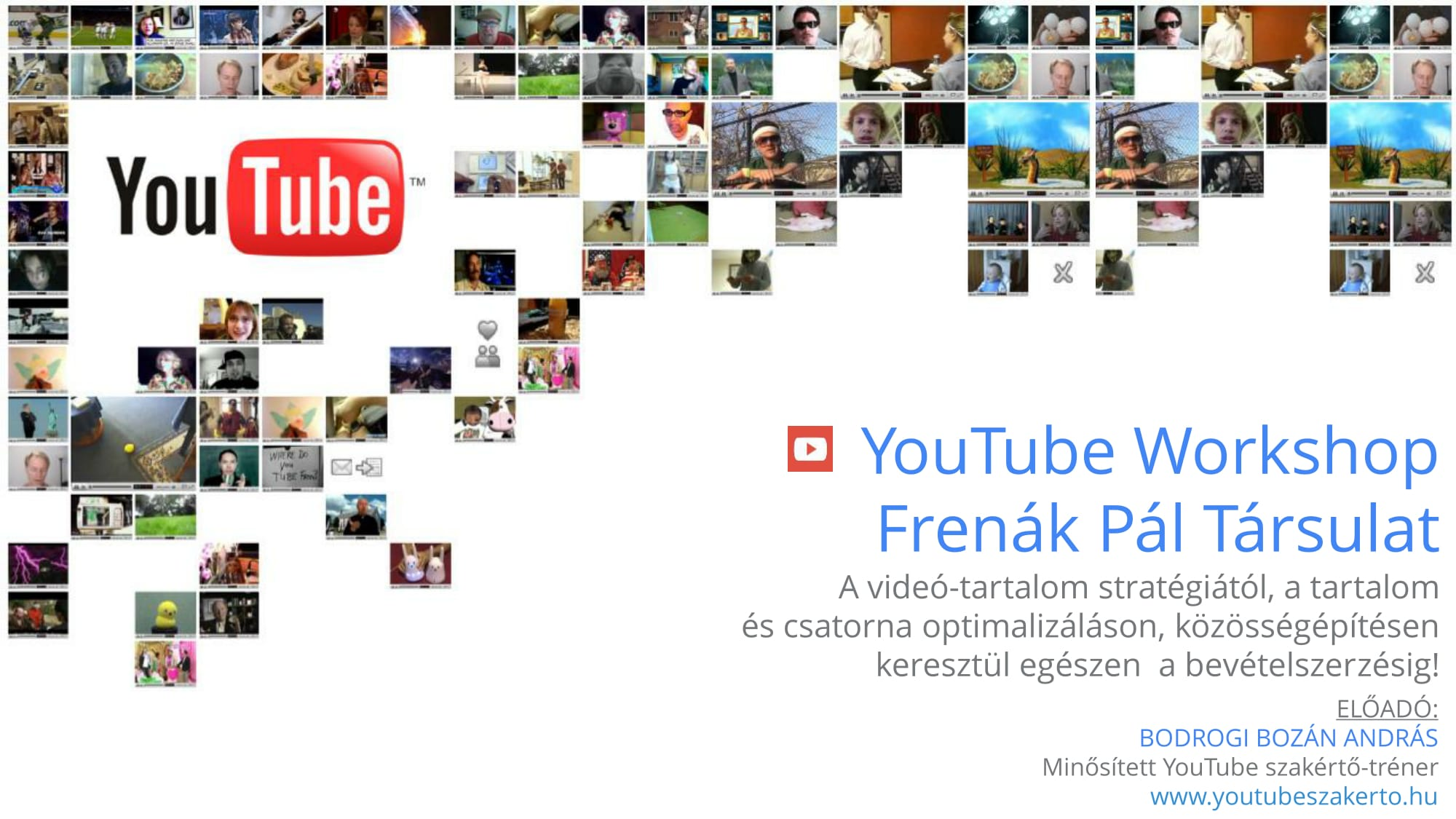 YouTube Tréning II. / YouTube Training II.